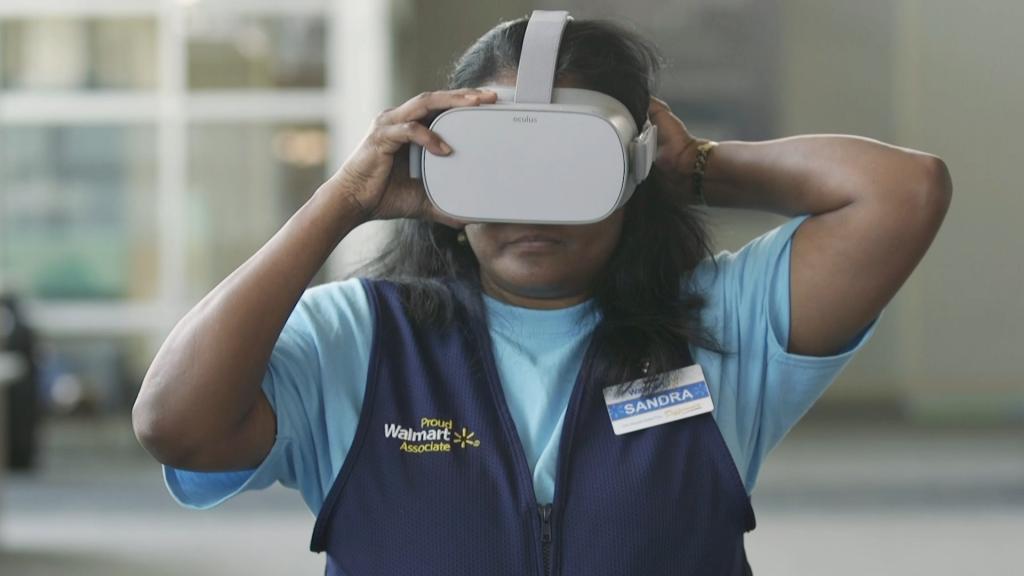 wallmart realidad virtual empresarial formacion i am vr