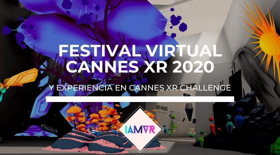 Festival de Cannes XR realidad virtual 2020