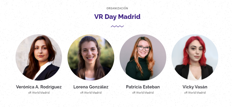organizadores evento realidad virtual virtual reality day madrid iamvr