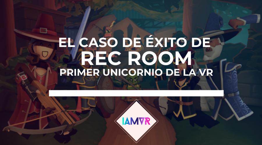 rec room social primer unicornio realidad virtual articulo i am vr
